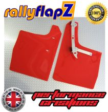 VW GOLF MK4 (1997-2004) RED MUDFLAPS